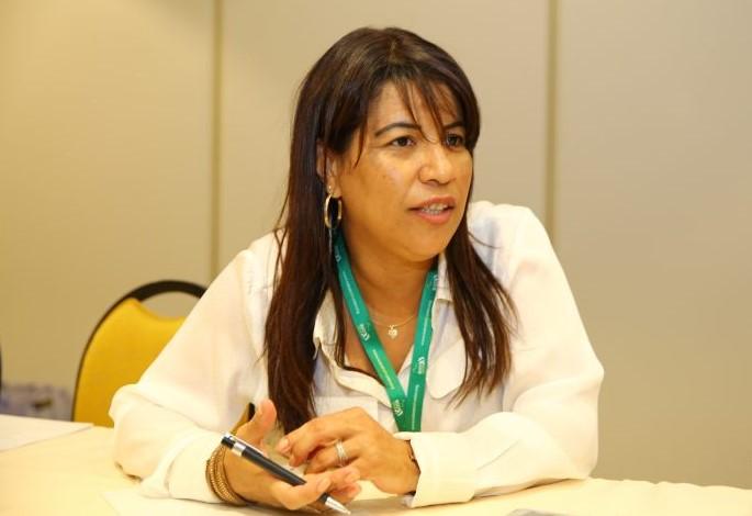 Mônica Veloso, vice-presidenta da CNTM (Confederação Nacional dos Trabalhadores Metalúrgicos)